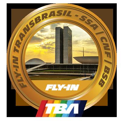 Fly-in TransBrasil, etapa: SSA | CNF | BSB